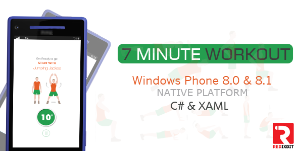 Windows Phone - 7 Minute Workout | Code Script | 7 minute