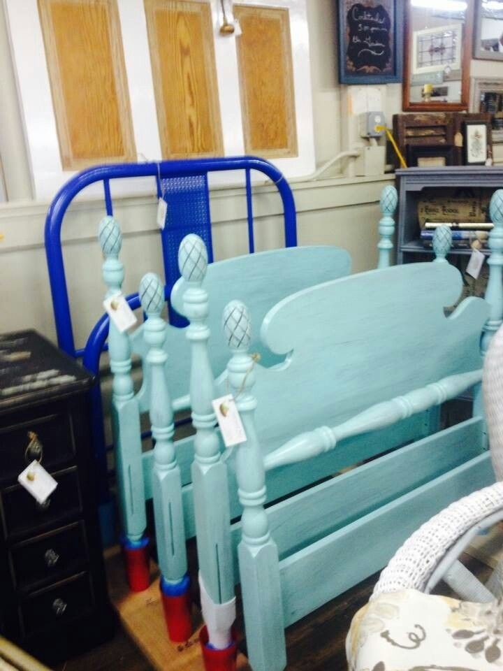 Antique Single Bed Frames Metal Bed Painted With Ford