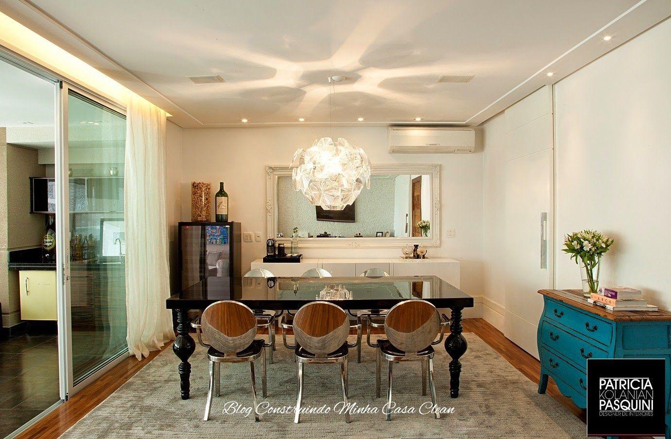 Qual Lustre Ou Pendente Usar Na Sala De Jantar Sala De Jantar  -> Lustres Pendentes Para Sala De Jantar Pequena