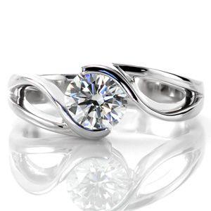 motion unique wedding ringsunique - Contemporary Wedding Rings