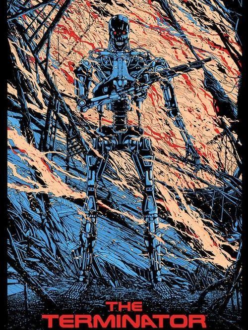 The Terminator by Killian Eng *