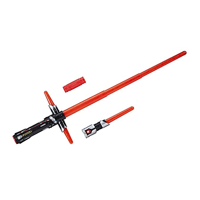 Amazon Com Star Wars The Last Jedi Bladebuilders Kylo Ren Electronic Lightsaber Art Hov In 2020 Lightsaber Star Wars Toys Kids Star Wars Light Saber