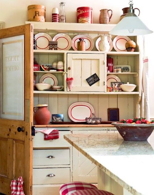Country Kitchen Red