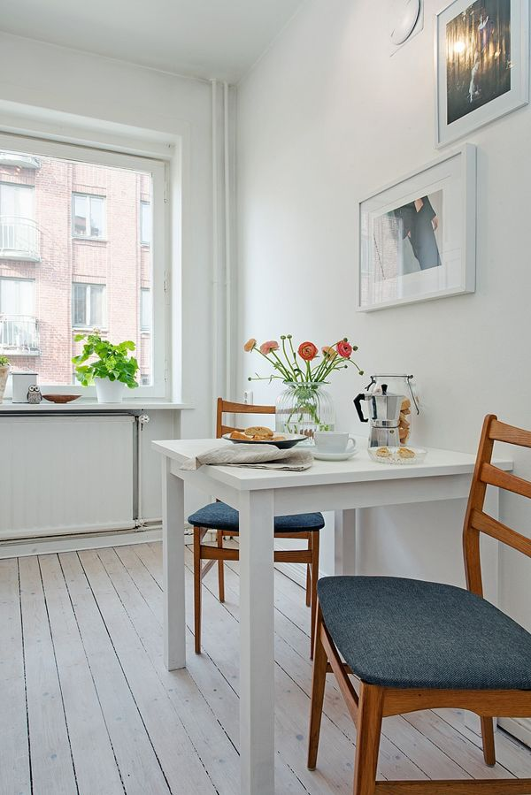 Compact apartment in Stockholm displaying functional design ...