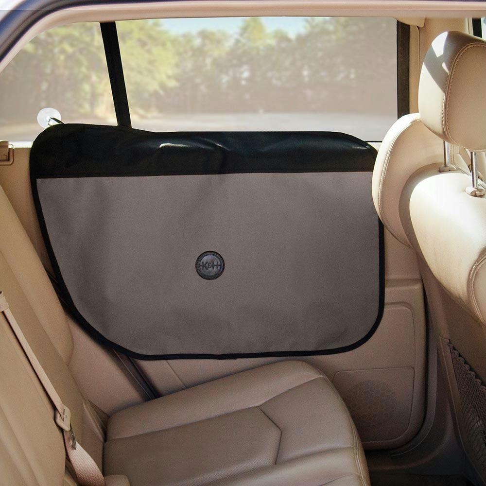 """K&h Pet Products Vehicle Door Protector Gray 19"""" X 27"""""""