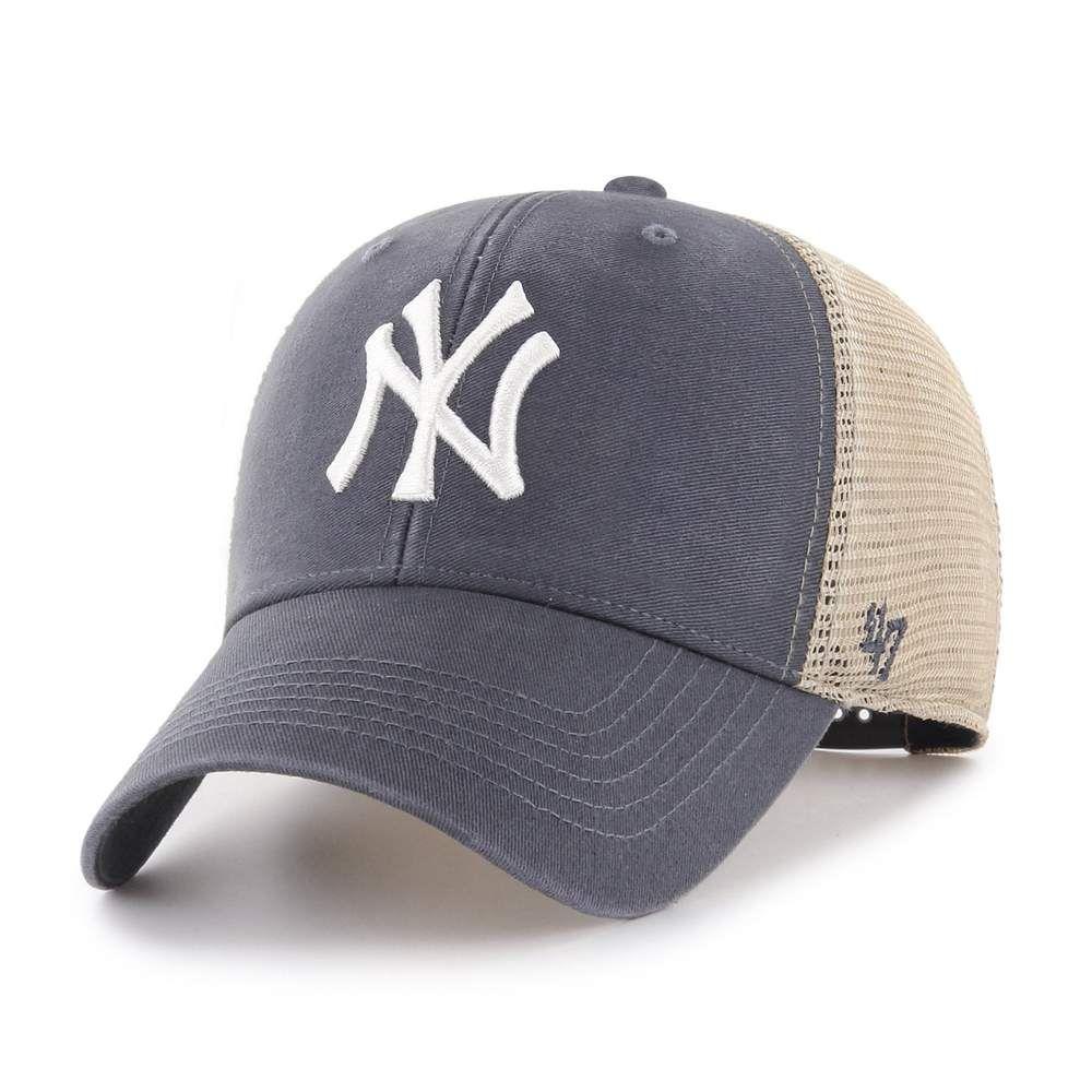 New York Yankees 47 Brand Vintage Navy Mvp Mesh Adjustable Hat In 2020 New York Yankees Yankees Adjustable Hat