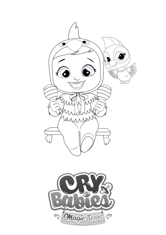 Colorions Cry Babies Magic Tears En 2020 Coloriage Loisirs Creatifs De Noel Cry Baby