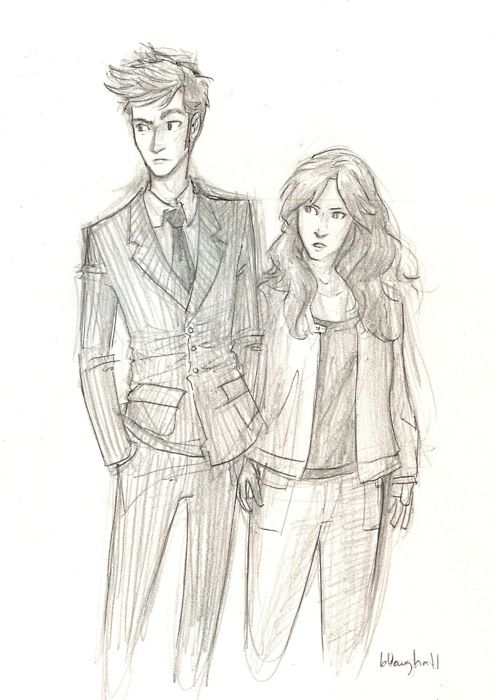 Ten and Donna by burdge