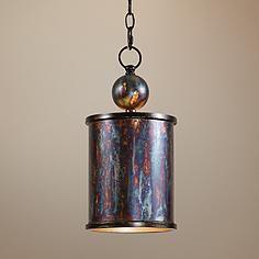 uttermost albiano cylindrical 1 light mini pendant - Uttermost Lights