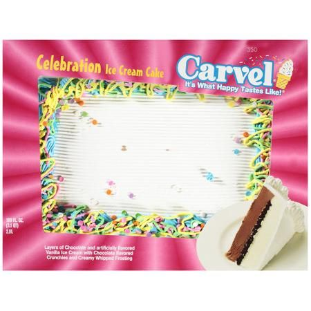 Carvel Celebration Ice Cream Cake 106 Oz