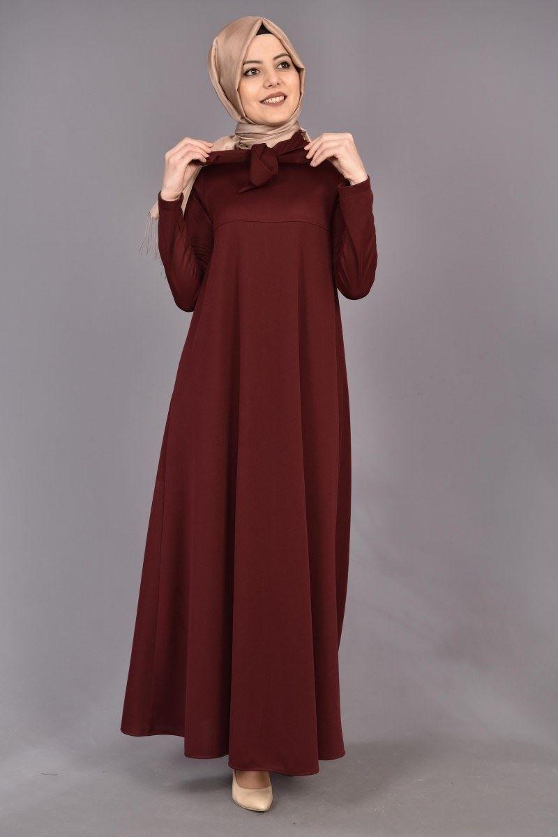 4be682b3bf1c7 Modamerve Tesettür Salaş Elbise Modelleri | Tesettür in 2019 ...