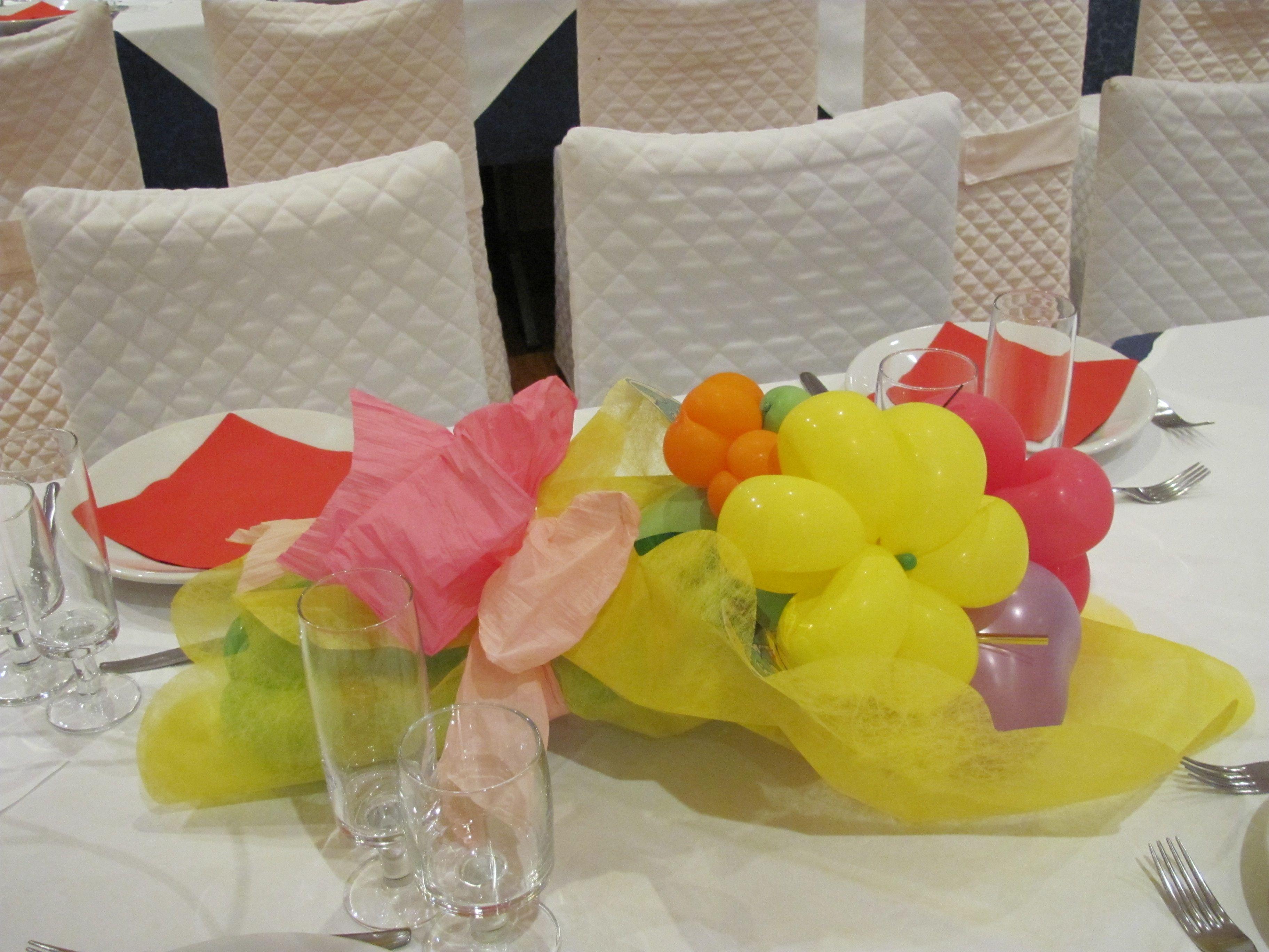 Bouquet di palloncini centrotavola