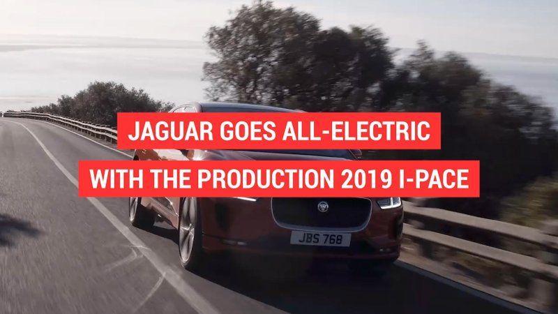 Jaguar's first ever production EV is finally here Jaguar