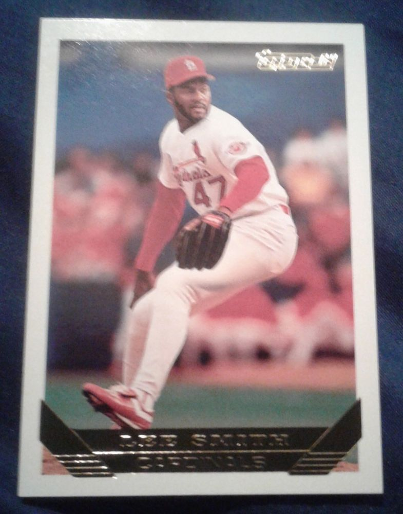 1993 Topps Gold Lee Smith Card 12 Sports Collectables And Stuff