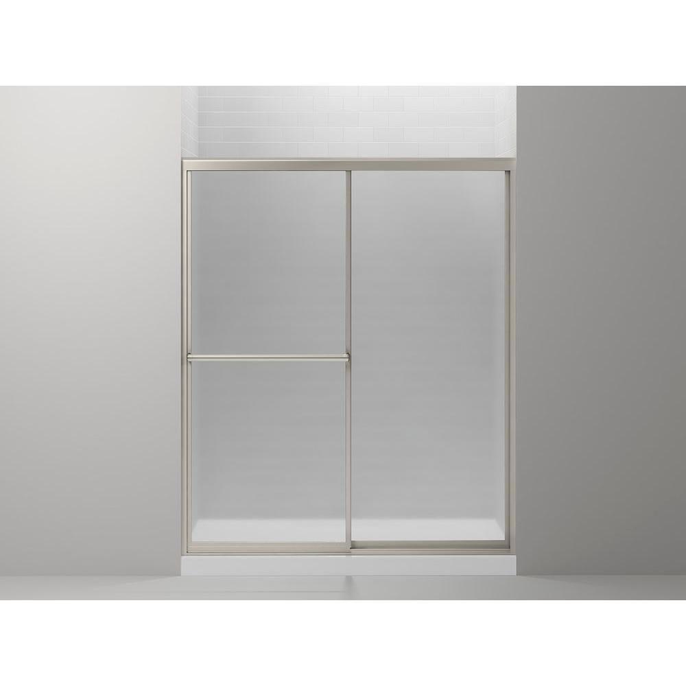 Sterling Prevail 59 38 In X 70 14 In Framed Sliding Shower Door
