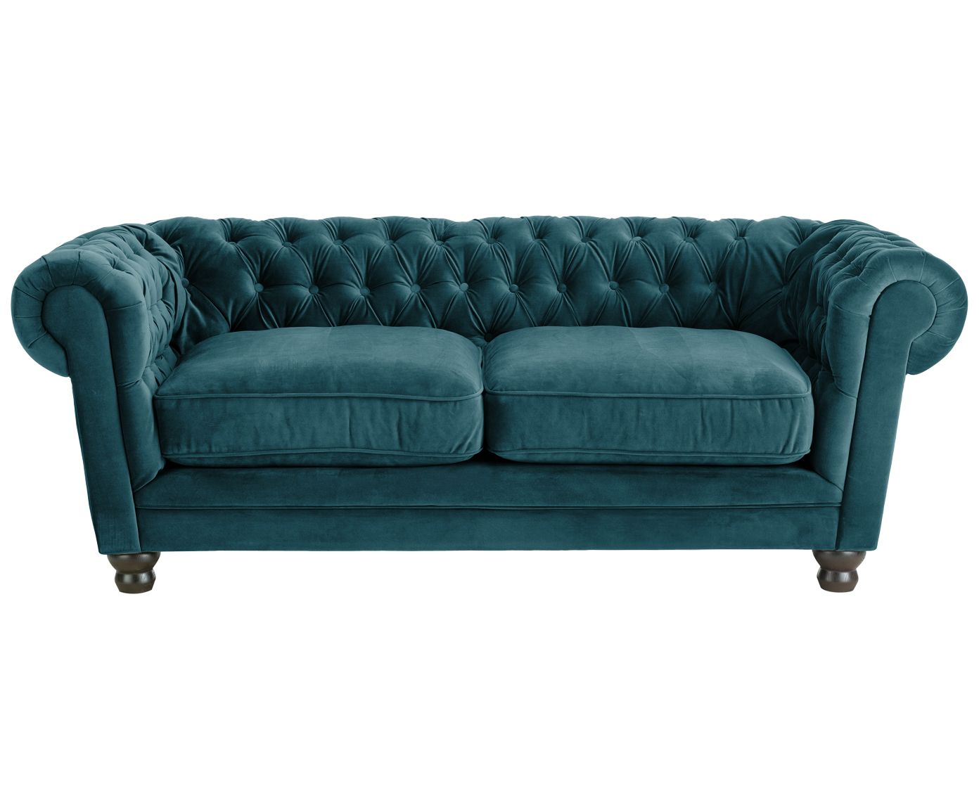 Sofa Türkis Chesterfield Samt Sofa Sally 2 Sitzer Home Ideas Pinterest