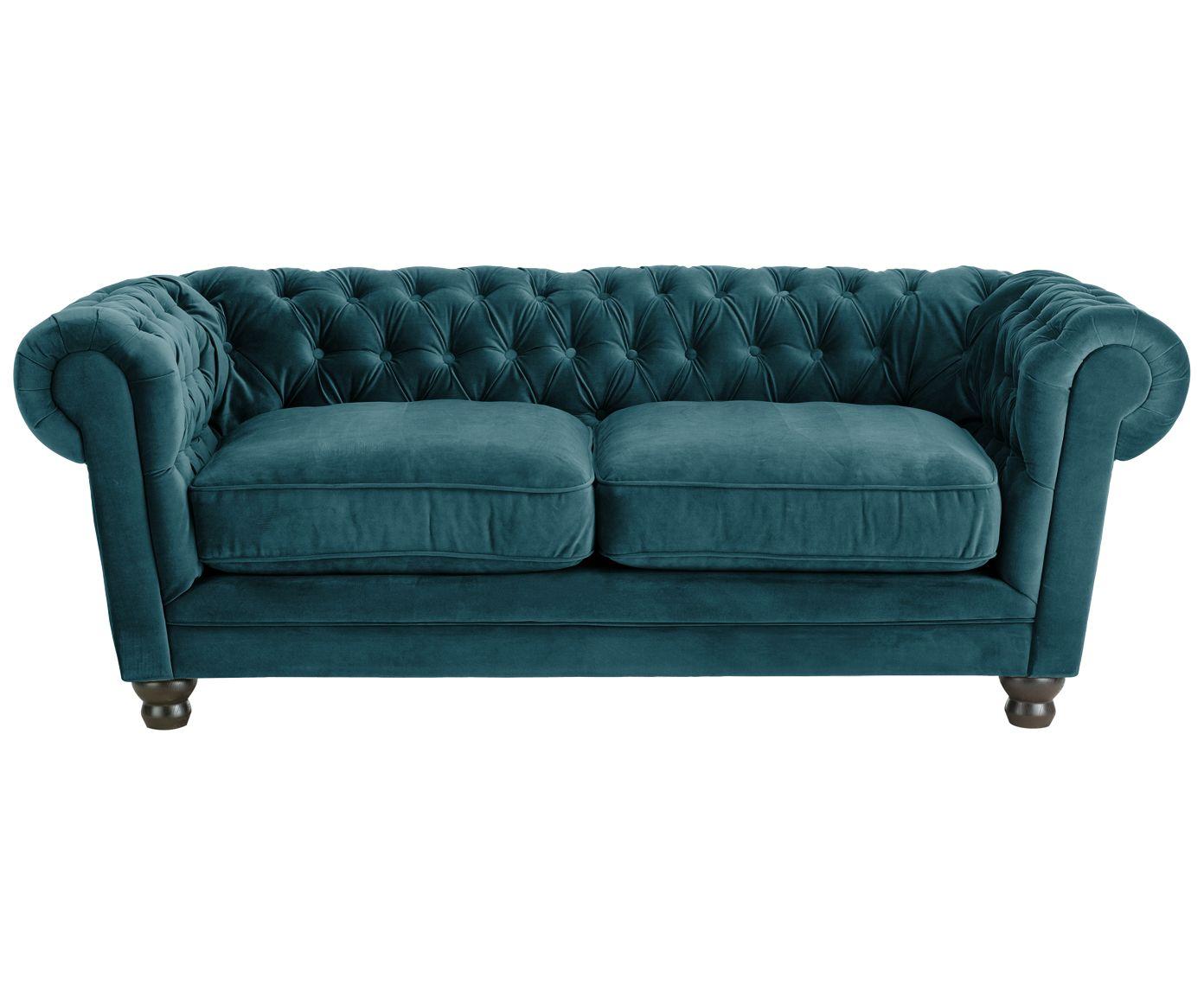 2 Sitzer Sofa In Petrol WestwingNow