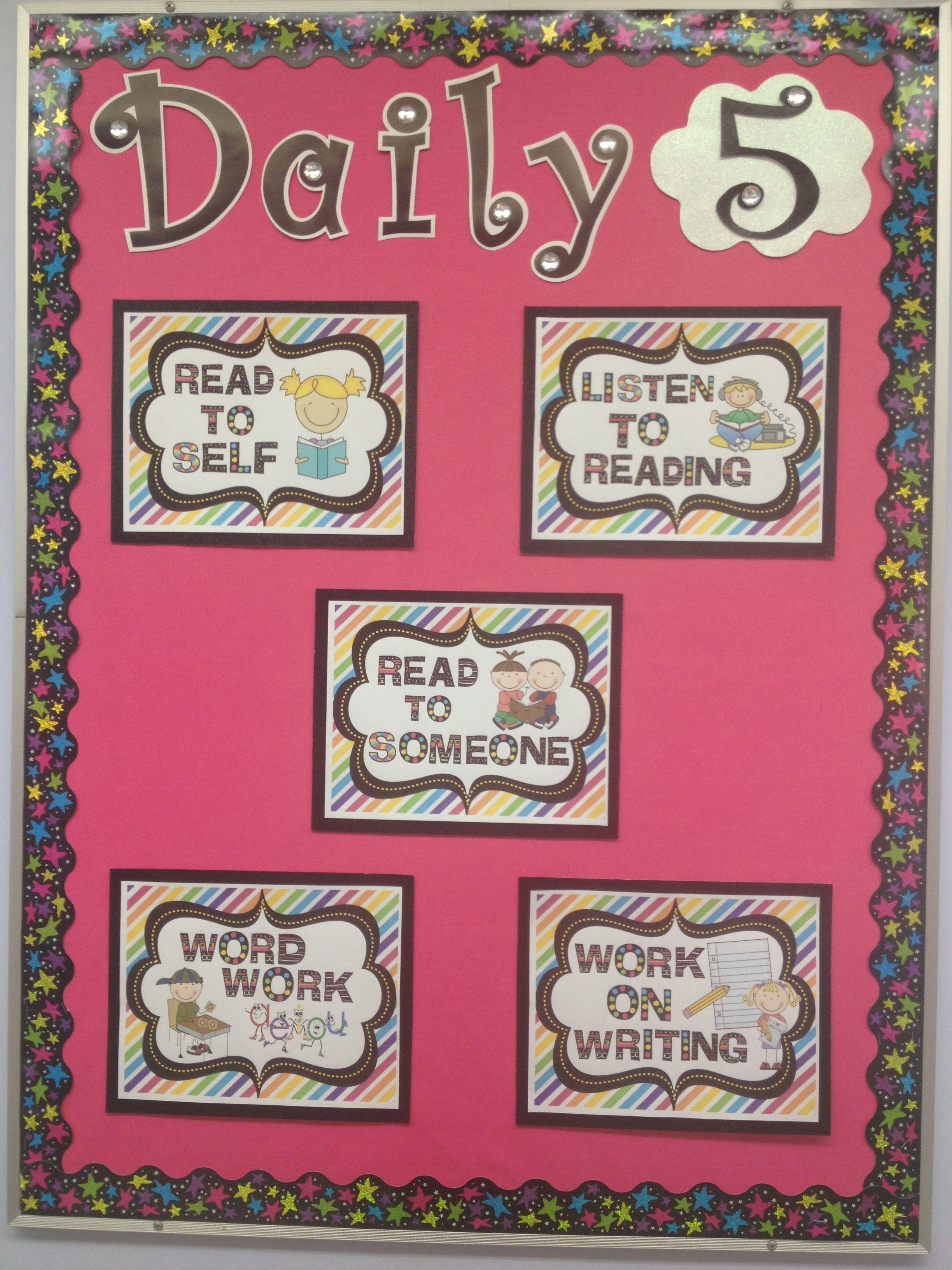 Daily 5 Bulletin Board
