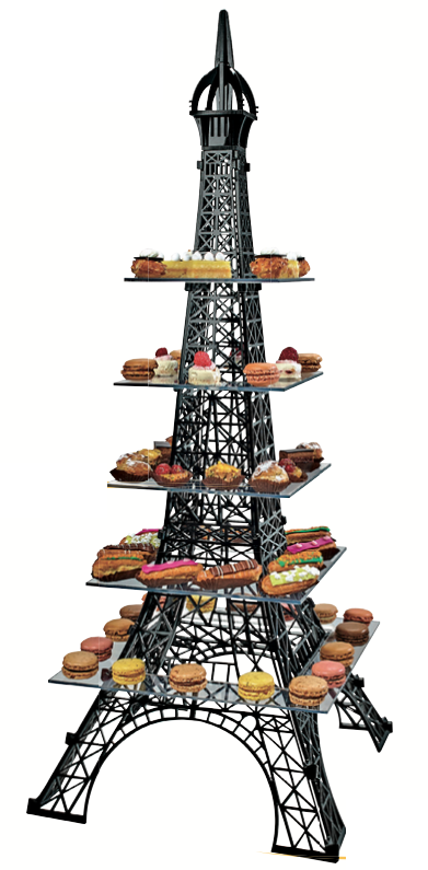 Expositor torre eiffel gm quince era ideas pinterest - Mesa tower crystal ...