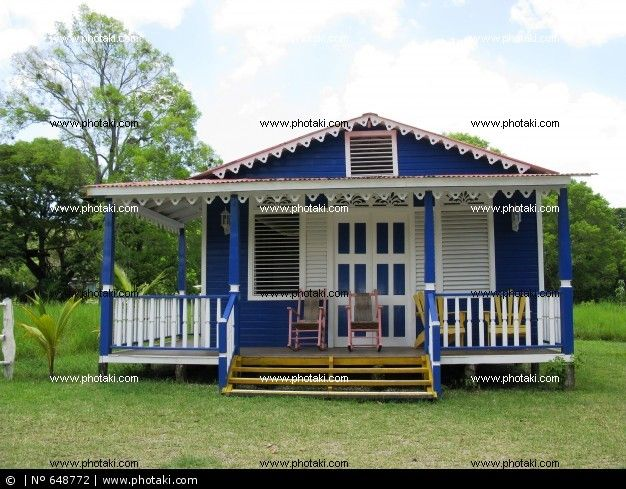 Republica Dominicana Fotos Casa De Madera En La