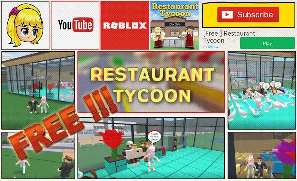 Roblox Restaurant Tycoon Gameplay - with Youtube Friend