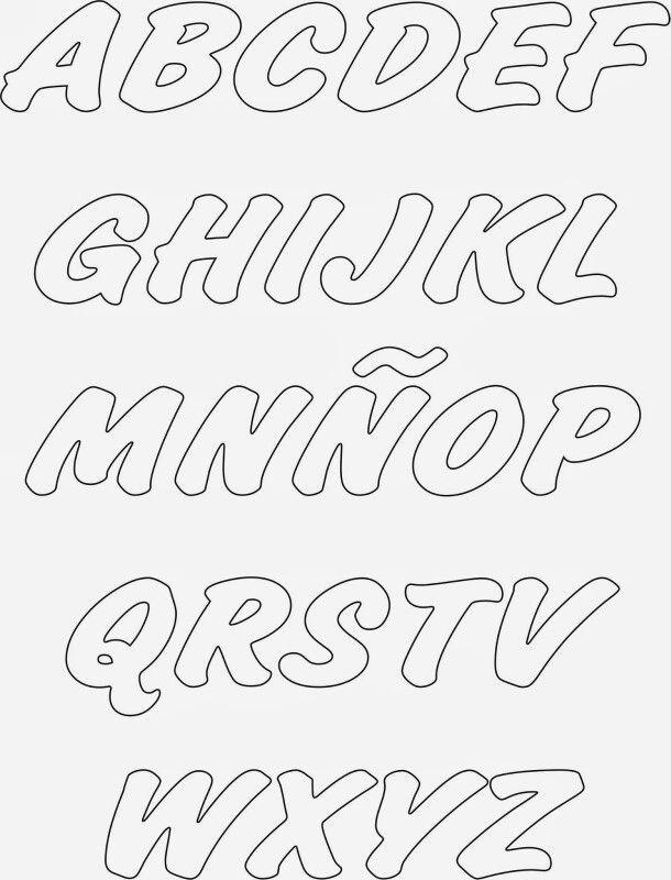 Letras letras de la web pinterest letras moldes de letras y abecedario - Literas bonitas ...