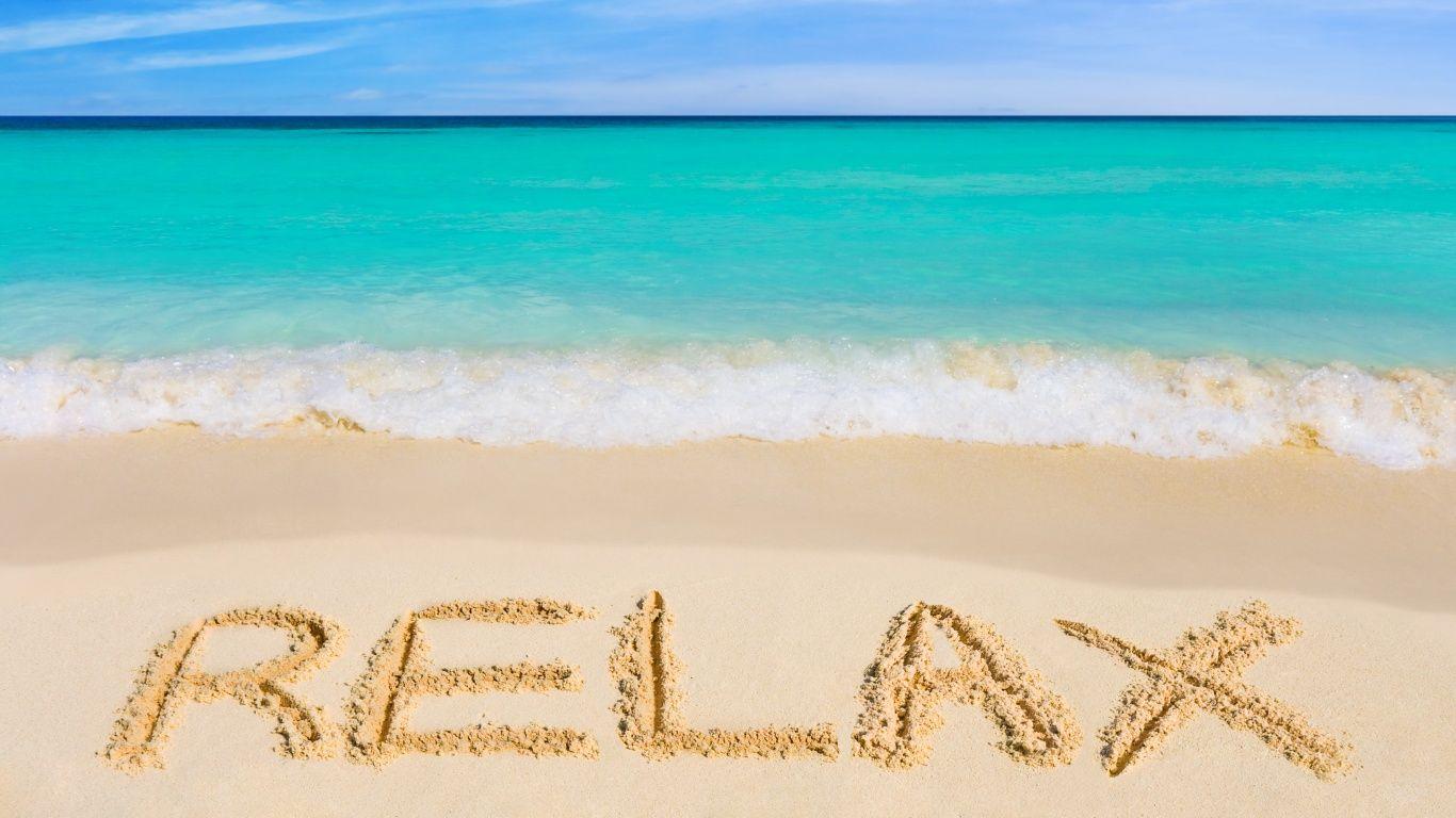 Relaxing Desktop Backgrounds Wallpaper Отдых на пляже