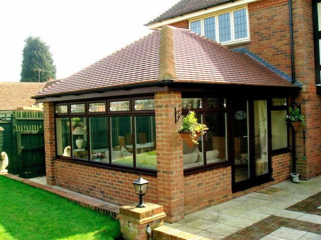 Tiled Conservatory Roof Google Search Garden Room Extensions House Extension Design