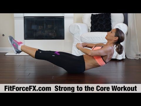 d3b8f3367b6 FitForceFX.com Strong to the Core Tabata & Strength Workout - YouTube