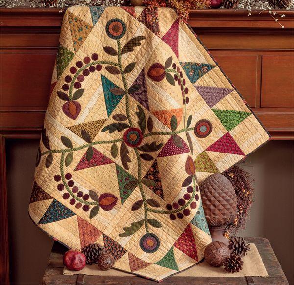 Applique is no sweat when you learn Kim Diehl's sewing secrets ... : kim diehl quilts - Adamdwight.com