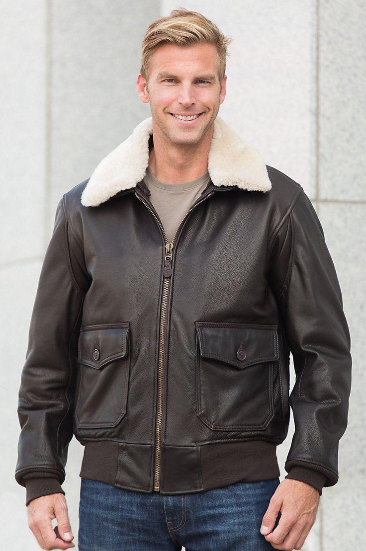 2019 Genuine Leather Jacket Men Fur Collar Air Force Flight Jacket G1 Sheepskin Slim Fit Bomber Jacket Short Motorcycle Coat To Win A High Admiration Jackets & Coats