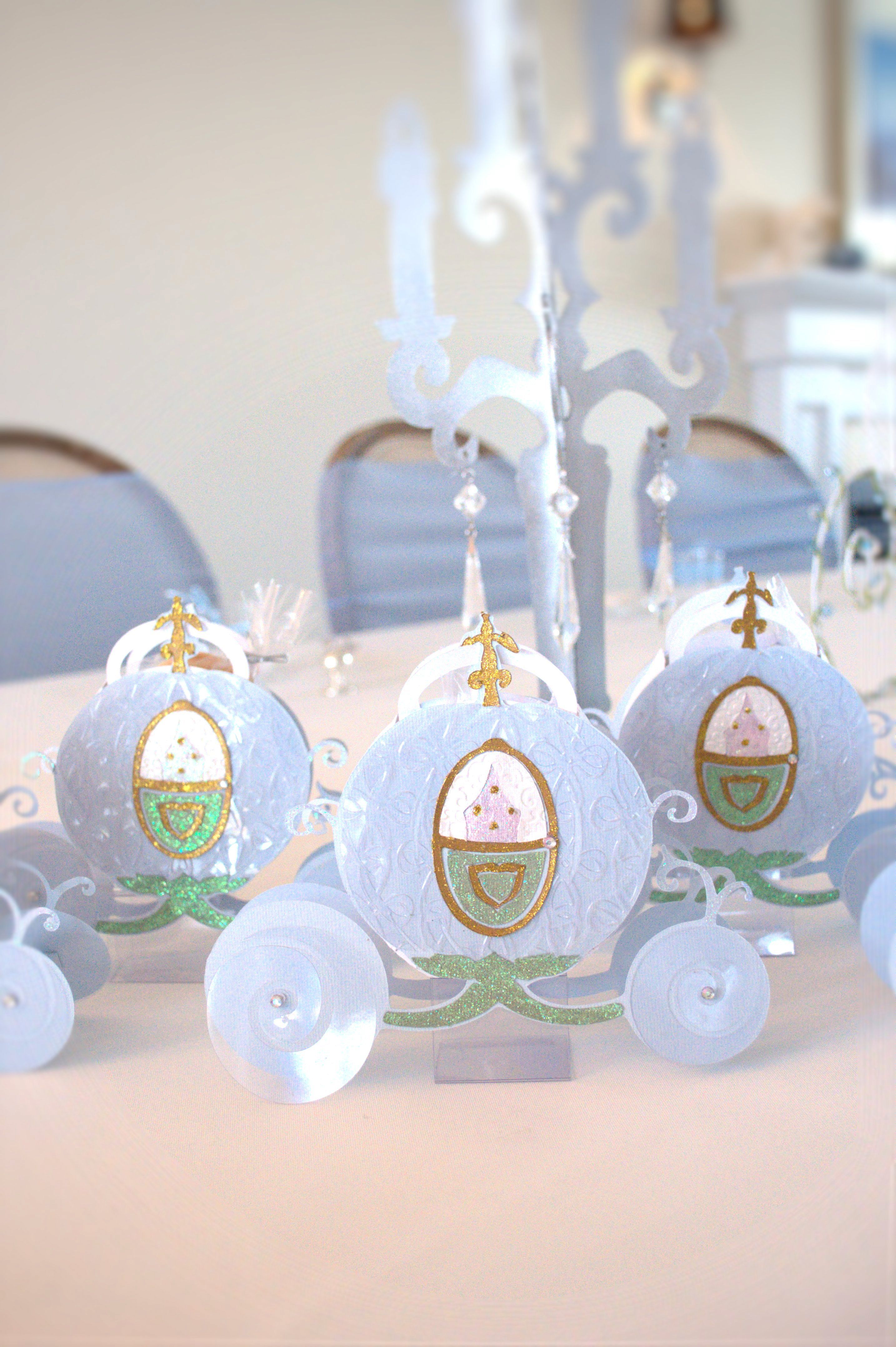 Dorable Cinderella Carriage Wedding Favors Image Collection - Blue ...