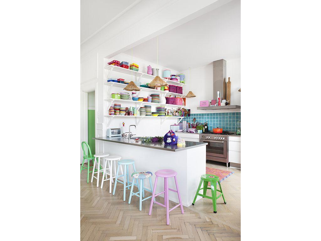 Open space: come dividere cucina e soggiorno | casa | Pinterest ...