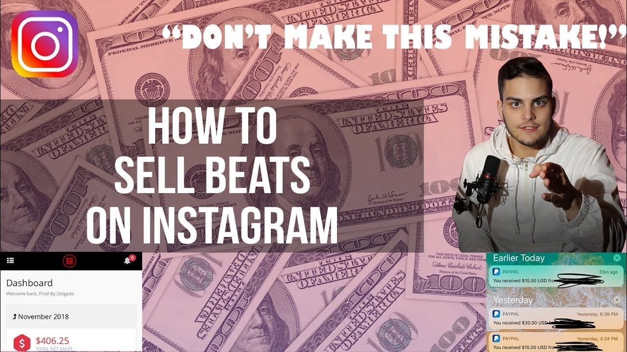How to effectively sell beats on instagram 2018 guide to