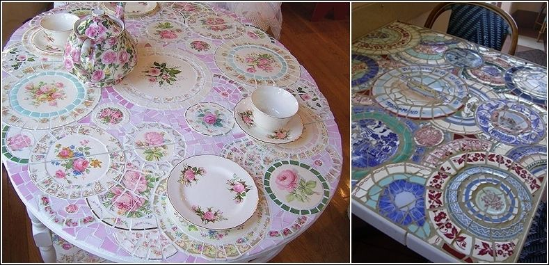 old plates