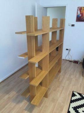 ikea ps nybygge design regal eichenfurnier in k ln m lheim regale gebraucht kaufen ebay. Black Bedroom Furniture Sets. Home Design Ideas