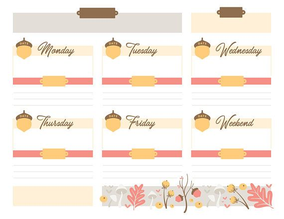Printable Planner Page, 85\