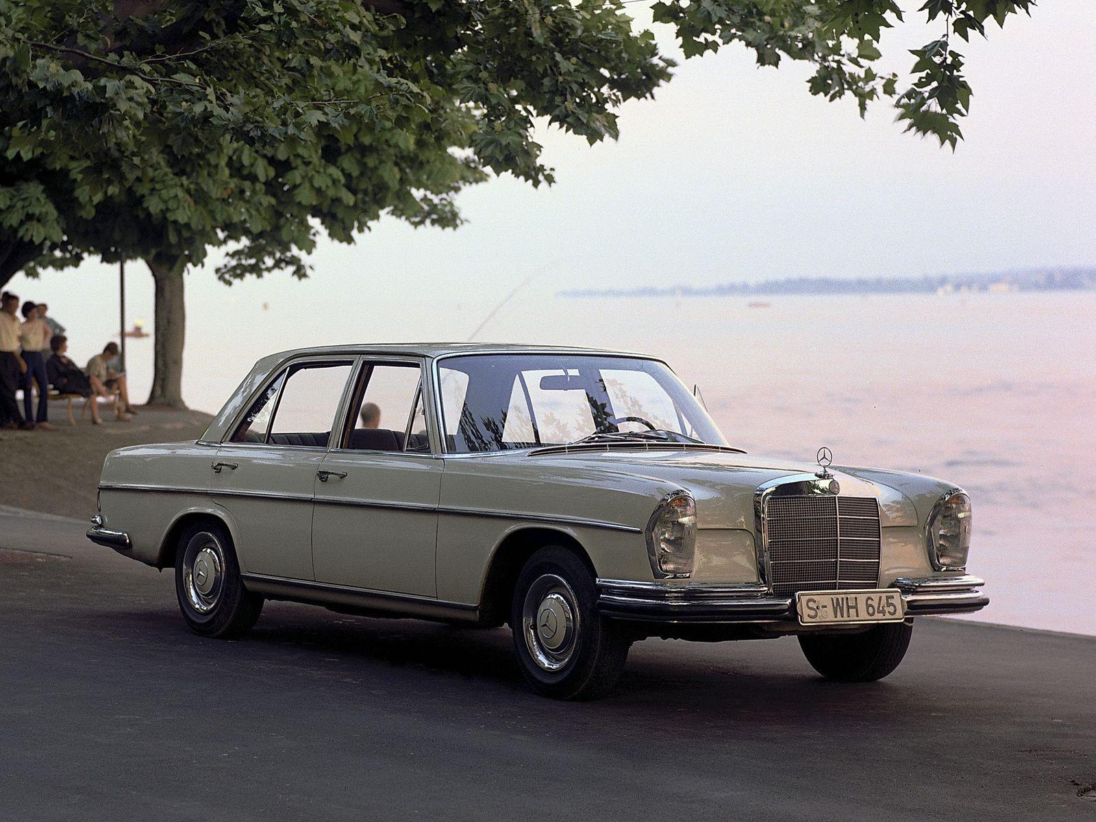 1965 68 Mercedes Benz 250 SE W108