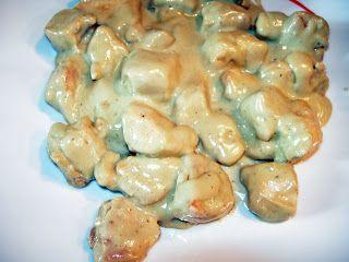 Cocinando entre Olivos: Pechugas de pollo al cabrales