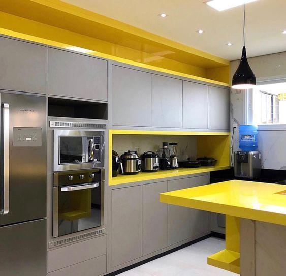 Cocinas Combinadas En Dos Colores Como Podemos Combinar Los Colores Para La Cocina Cocinas Be Diseno De Cocina Cocinas De Casa Diseno De Interiores De Cocina