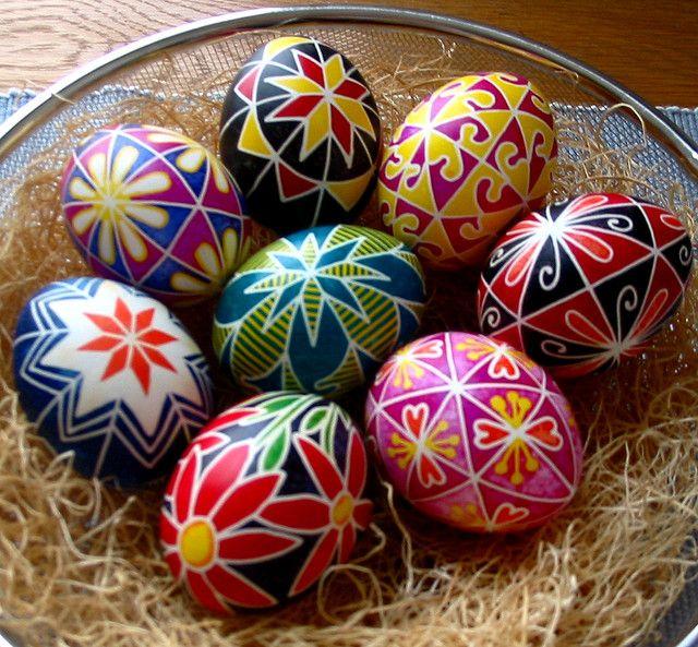 Happy Easter! Huevo, Huevos pintados y Huevos decorados - huevos decorados