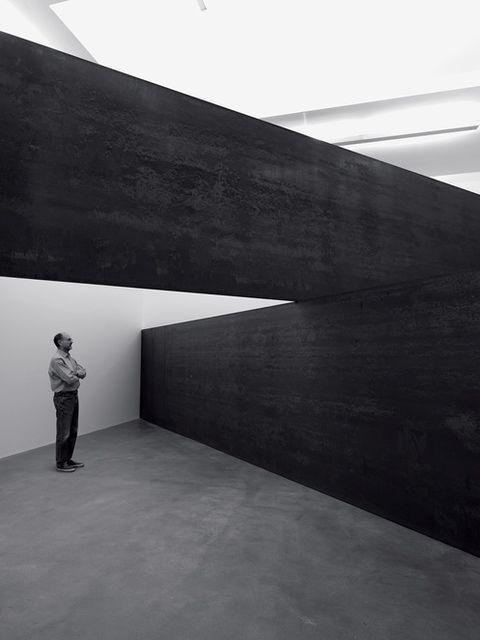 Richard Serra London Cross 2014 Artsy Richard Serra Gagosian Gallery Architecture