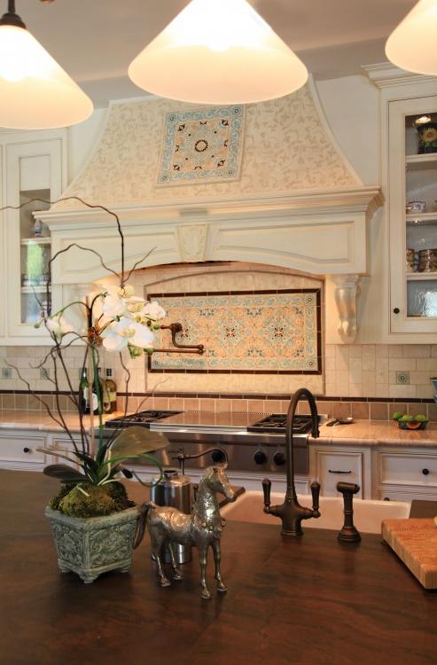 Spanish Santa Barbara Style Kitchen