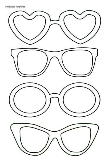 Sunglasses Templates Have Staff Draw What They Did In The Lenses And Then Put Them Up On Or Around Giant Sunshine Student Crafts Art For Kids Art Activities