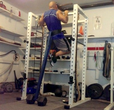 Band resisted pull ups get me body drop sets workout assisted