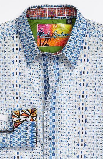 Robert Graham Sentosa Sport Shirt Nordstrom Well Dressed Men Mens Shirt Dress Sports Shirts