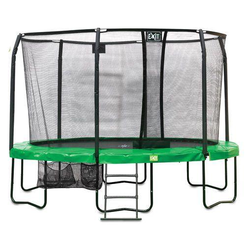 Trampoliinipaketti Exit JumpArena - Exitin iso ovaalin mallinen trampoliini