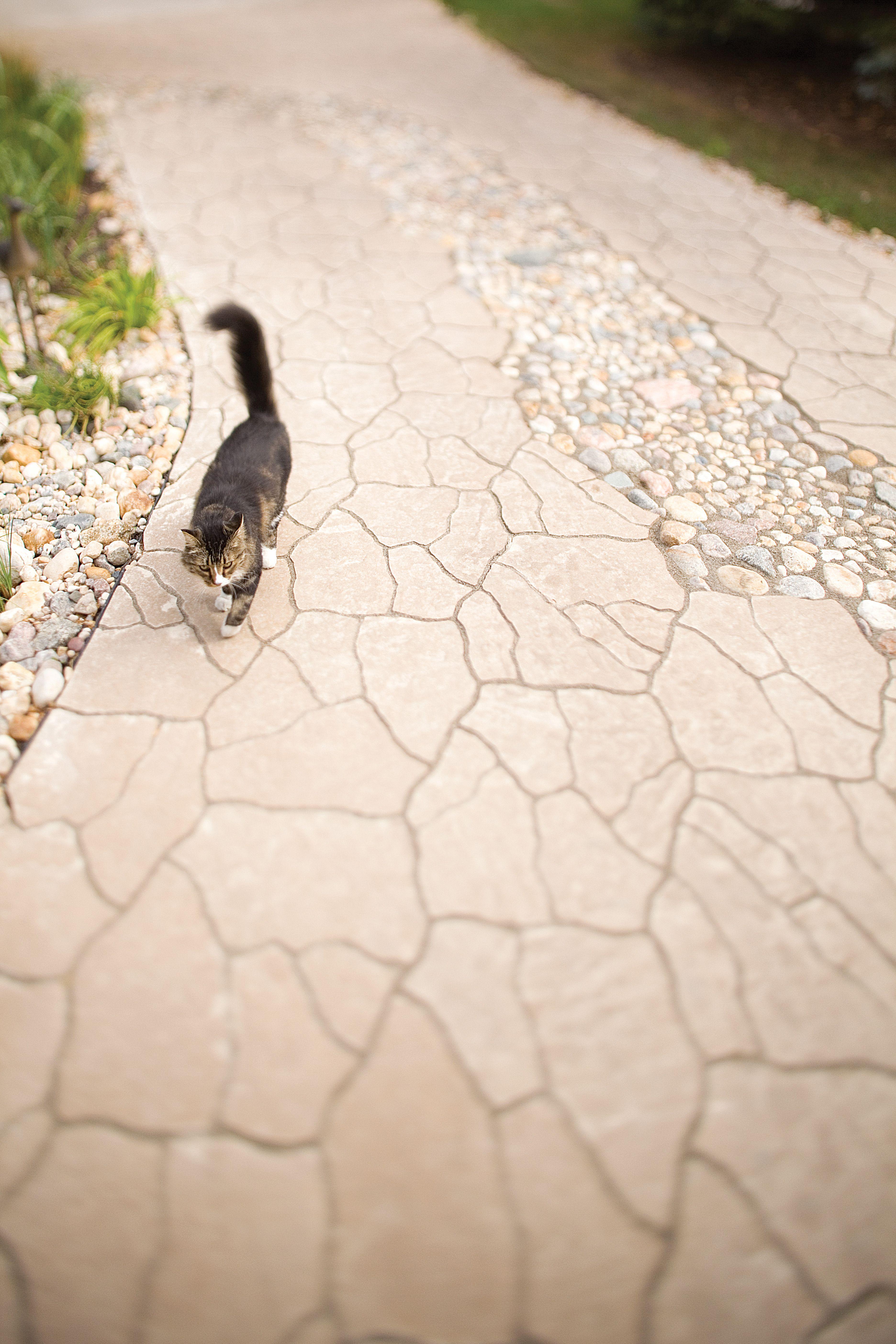 Flagstone paver in Desert Buff Barkman Hardscapes