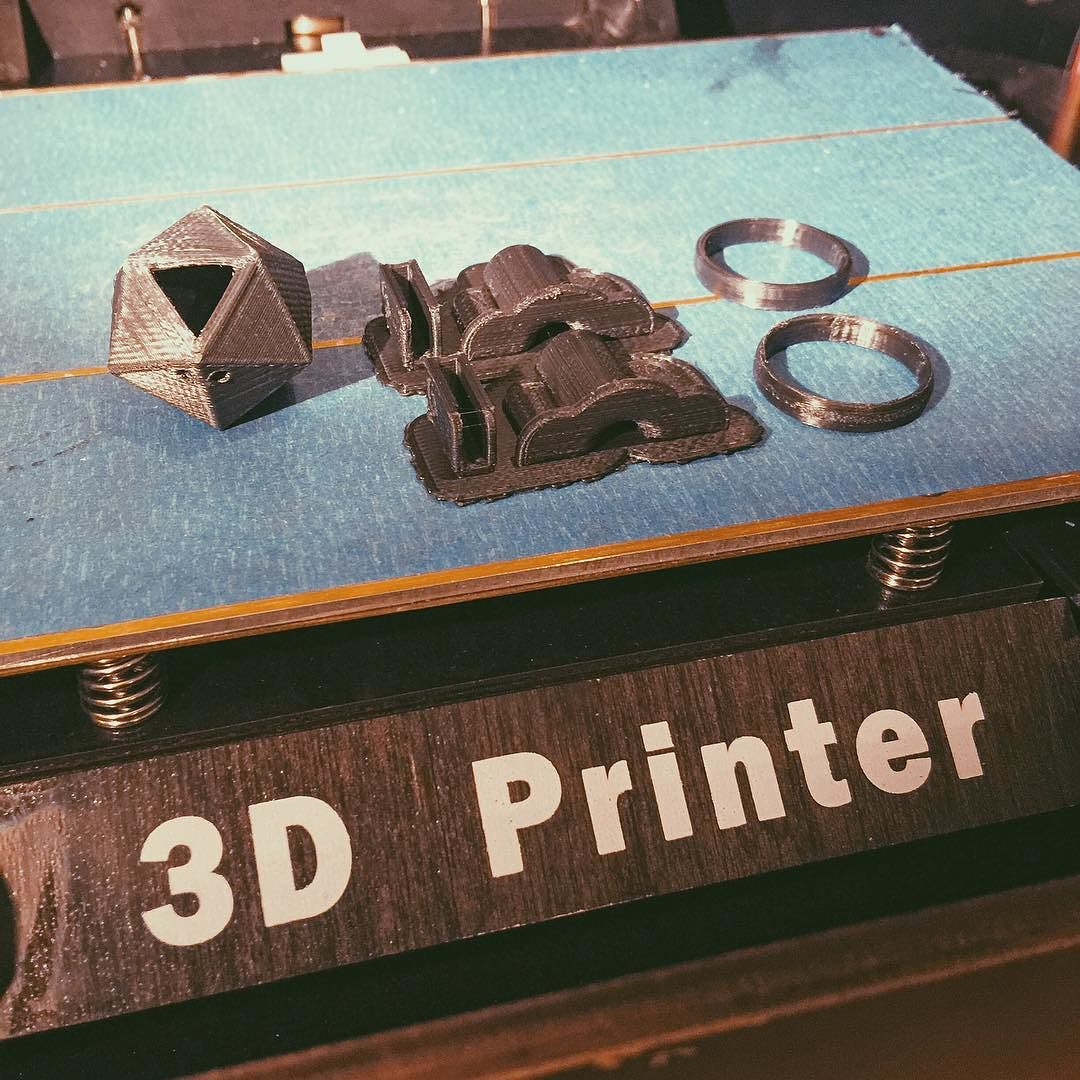 Something we liked from Instagram! New Toy. #3dprinter by adamrhoades check us out: http://bit.ly/1KyLetq