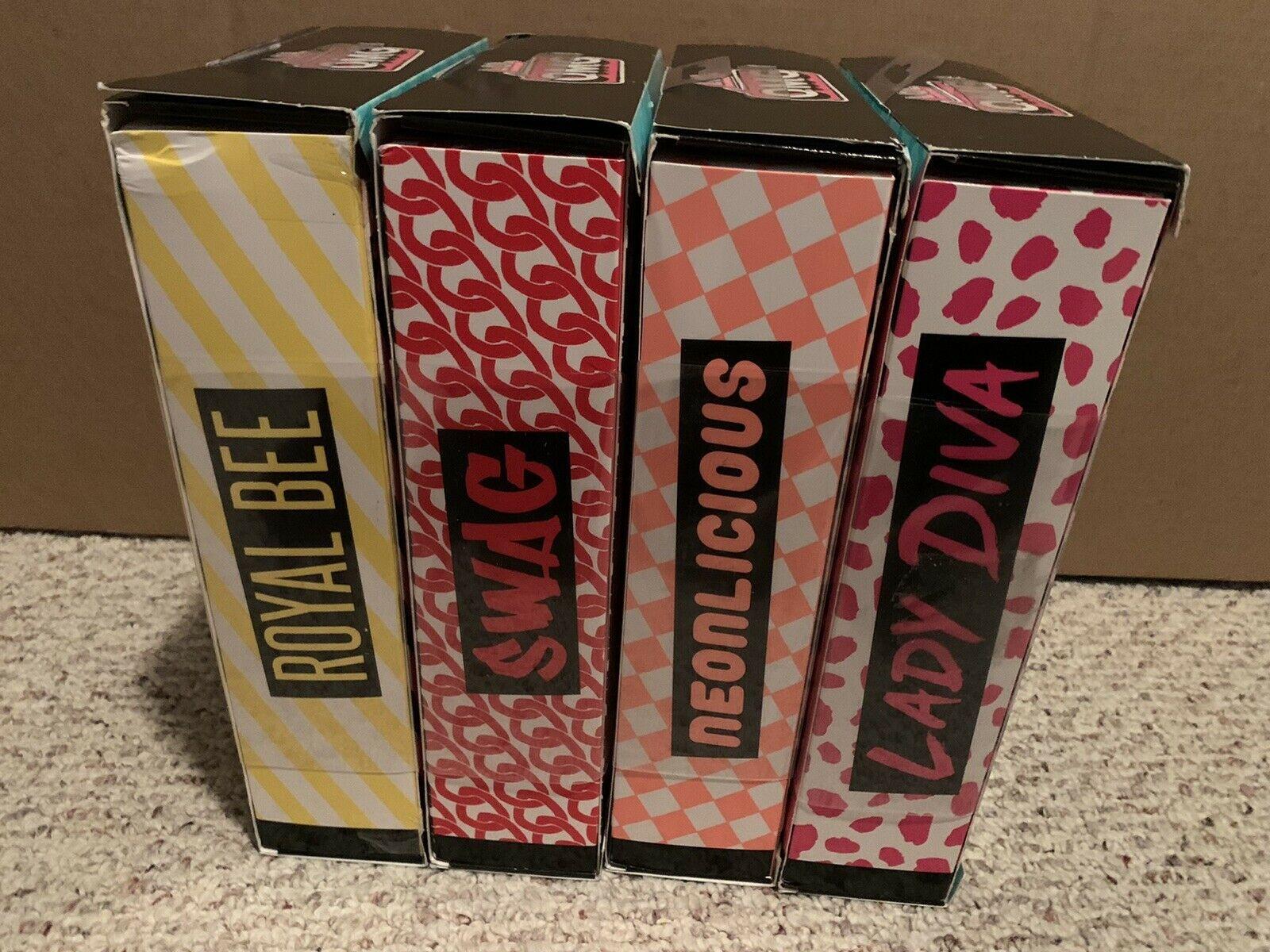 Lol Surprise Omg Fashion Dolls Series 1 Complete Set Of 4 Damaged Box Ships Free Surprise Box Ideas Of Surprise Box Surprisebox Surprise Box Box Surprise